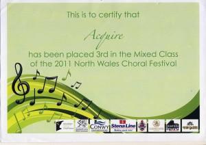 NWCF certificate